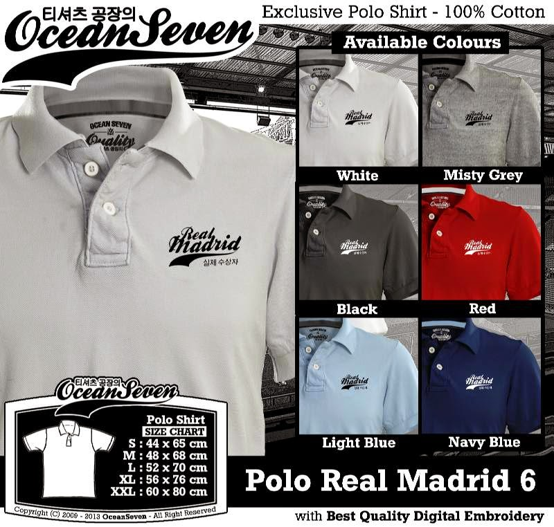Kaos Polo Real Madrid 6