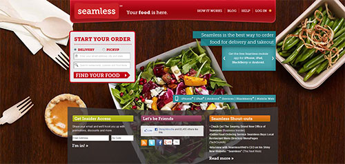 how to make a food ordering website