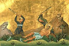 The Martyrdom of St. Onesimus