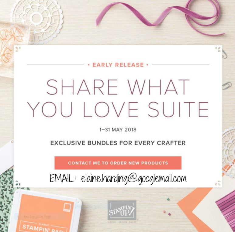 SHARE WHAT YOU LOVE SUITE - EARLY RELEASE