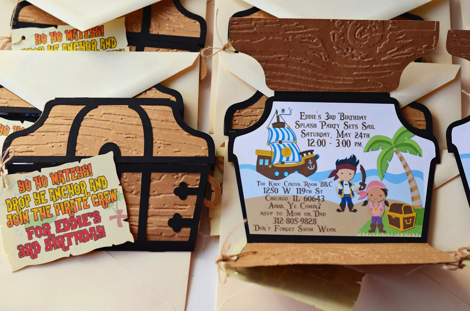 jake and the never land invitations