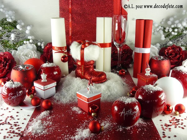 Sarah 1 jour 1 obsession i wish you a merry christmas for Deco de sapin de noel rouge et blanc