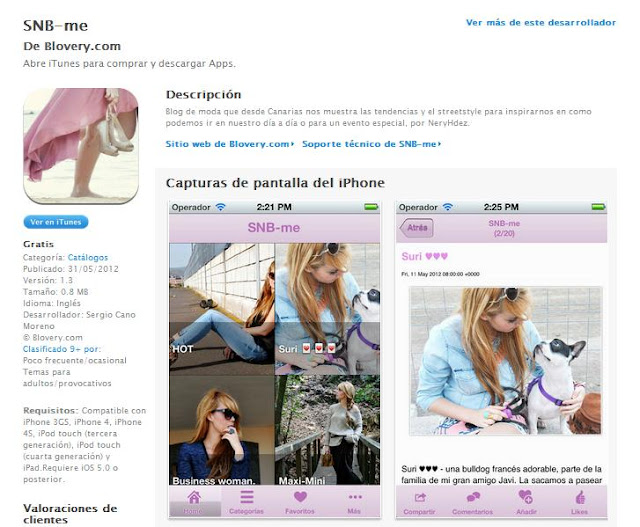 snb, nery hdez, app blogs, app para blogs