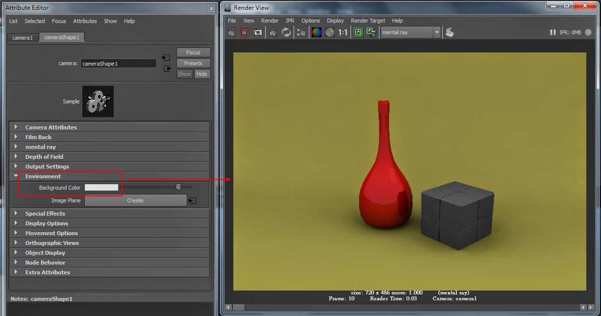 FG Render Setting in Maya 08