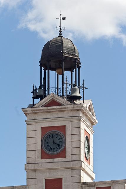 The pilingui 39 s house el reloj de la puerta del sol for El reloj de la puerta del sol