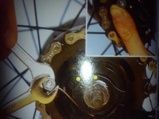 Cambio cable buje de bicicleta