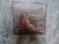 Fresco  de la habitación 7 de lasTermas del faro de Ostia, s.  II d. C