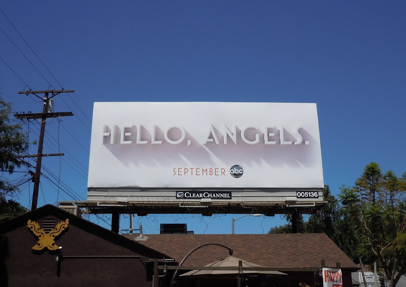 Charlie's Angels teaser billboard