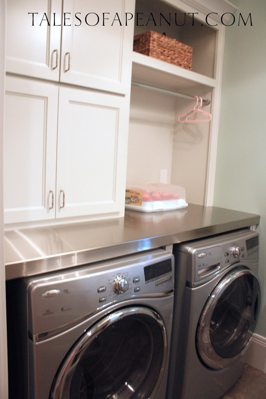 building a home laundry room reveal jenn elwelljenn elwell