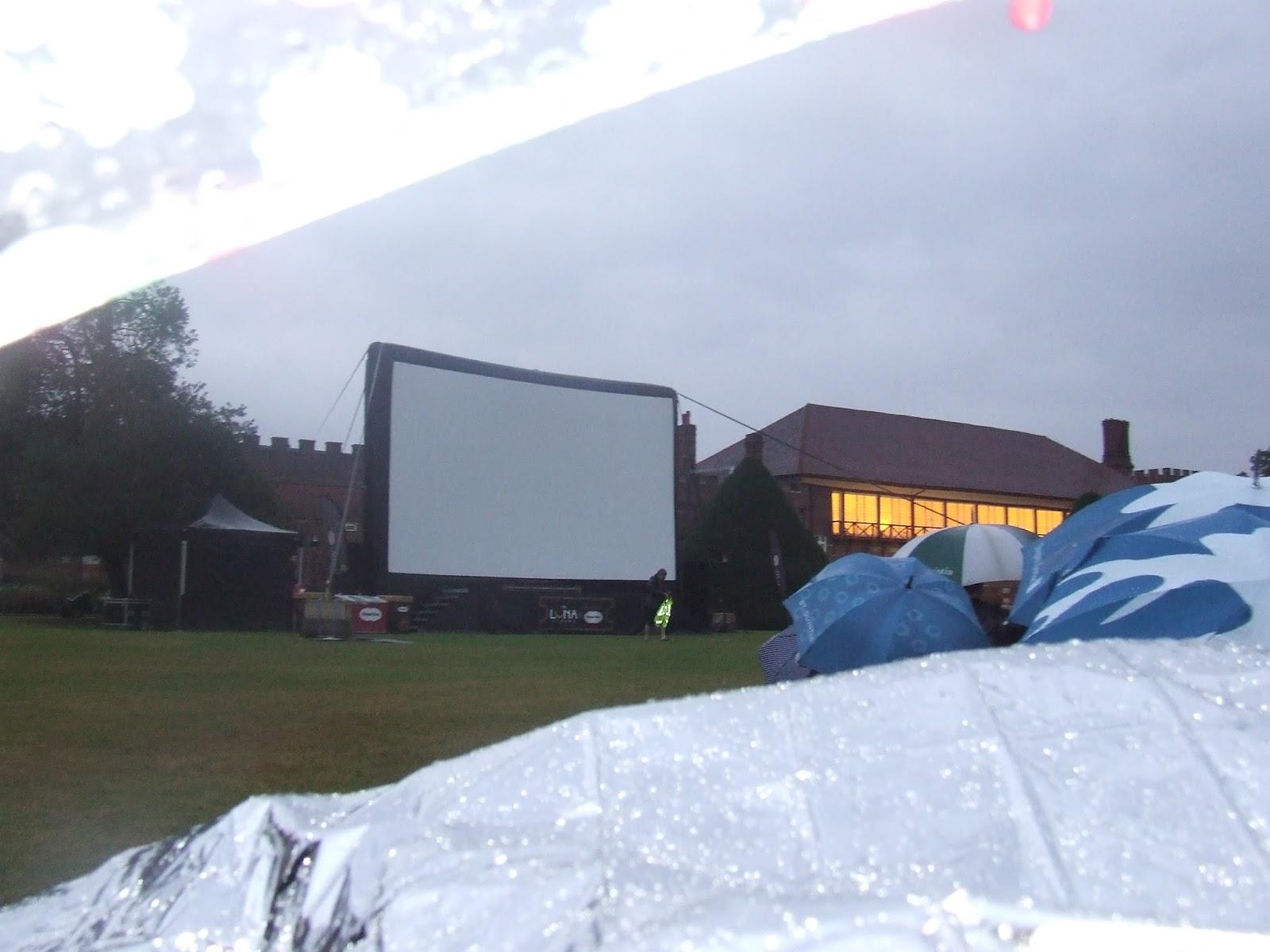 Luna cinema blanket