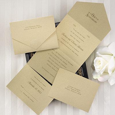 elegant wedding invitations: seal and send wedding invitations, Wedding invitations