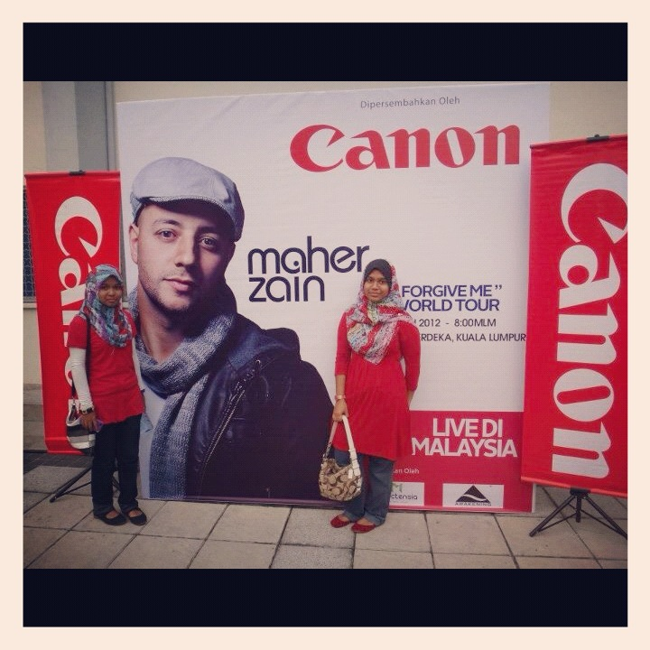 Maher Zain With His Wife And Daughter http://missaugust93.blogspot.com/2012_06_01_archive.html