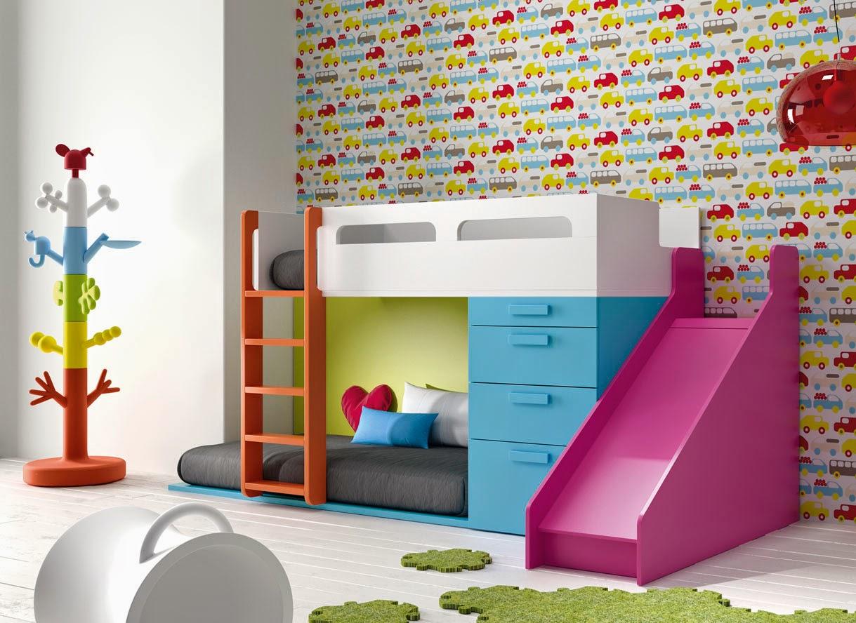 Camas tren literas tren literas fijas for Muebles infantiles juveniles