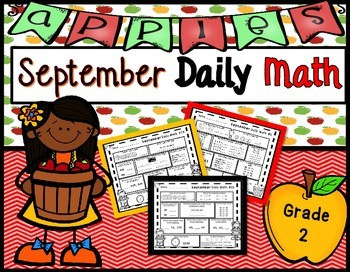 http://www.teacherspayteachers.com/Product/September-Daily-Math-2nd-Grade-Use-for-morning-homework-or-independent-work-1084307