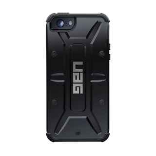 URBAN ARMOR GEAR Black Rugged Composite Case for New iPhone 5, UAG-IPH5-BLK/BLK