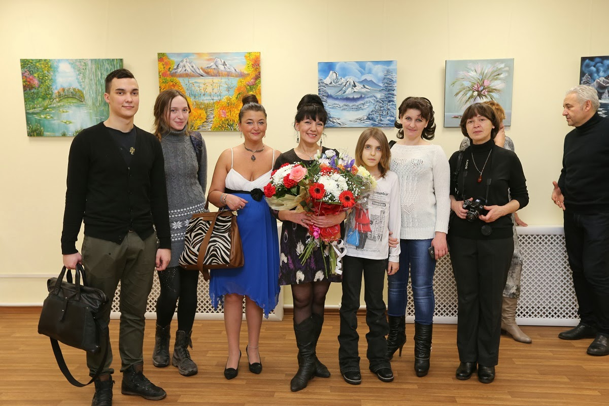 Personal art exhibition by Natalya Zhdanova in the Gallery SPb - Opening 01/09/2014