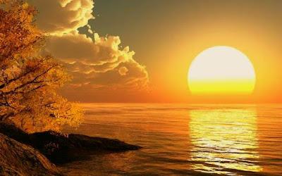 Keindahan Suasana Alam Diwaktu Senja