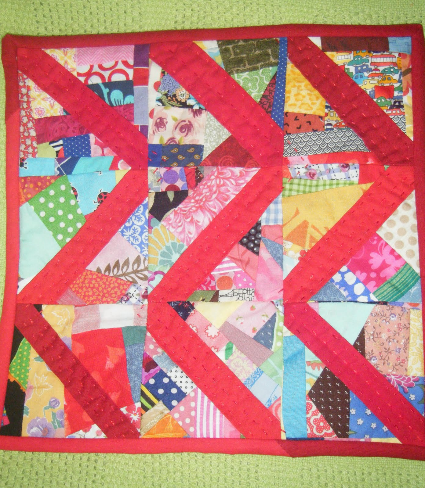 The Quilts of Mimi Park: April 2011