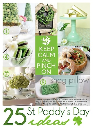 25 Fresh St Paddys Day Ideas button feature at I Gotta Create!