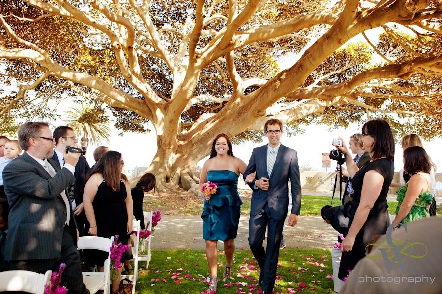 wedding, Point Fermin San Pedro