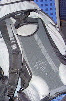 Rucksack mit Netzbespannung