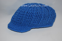 free crochet patterns-free crochet patterns for baby hats, newsboy brimmed cap
