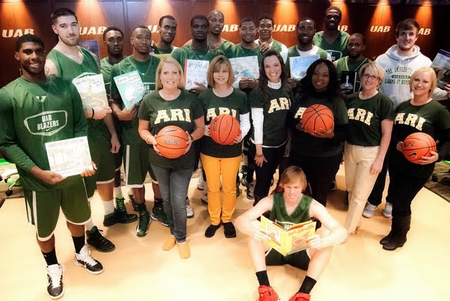ARI Region 5 and the UAB Blazers Basketball Team