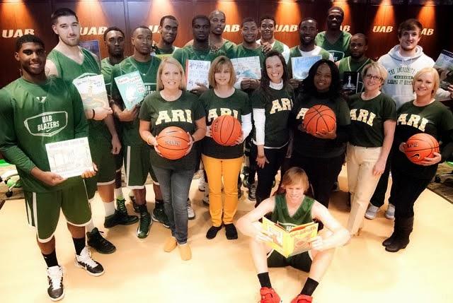 ARI Region 5 and the UAB Blazers Basketball Team