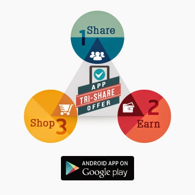 Get Free Rs.100 shopclues gift voucher for referring 3 friend to download shopclues app