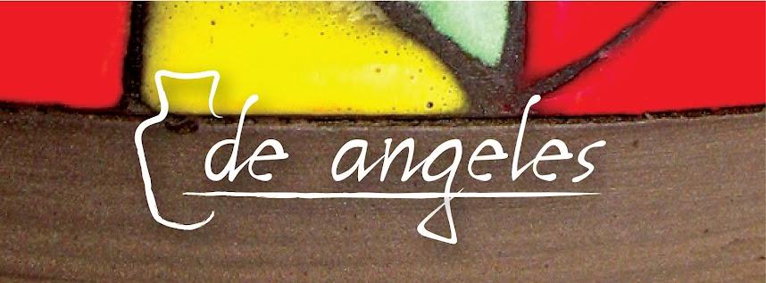 de angeles cerámicas