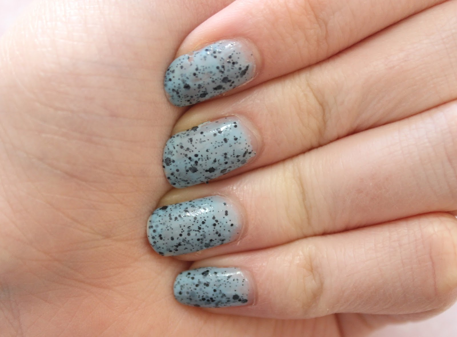 Models Own Speckled Polish In Duck