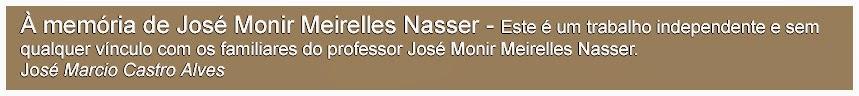 Professor José Monir Meirelles Nasser