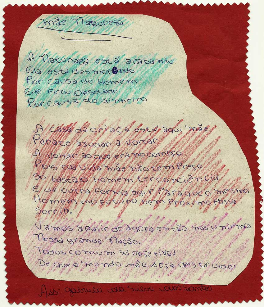 Por poema triste adolescente escrito