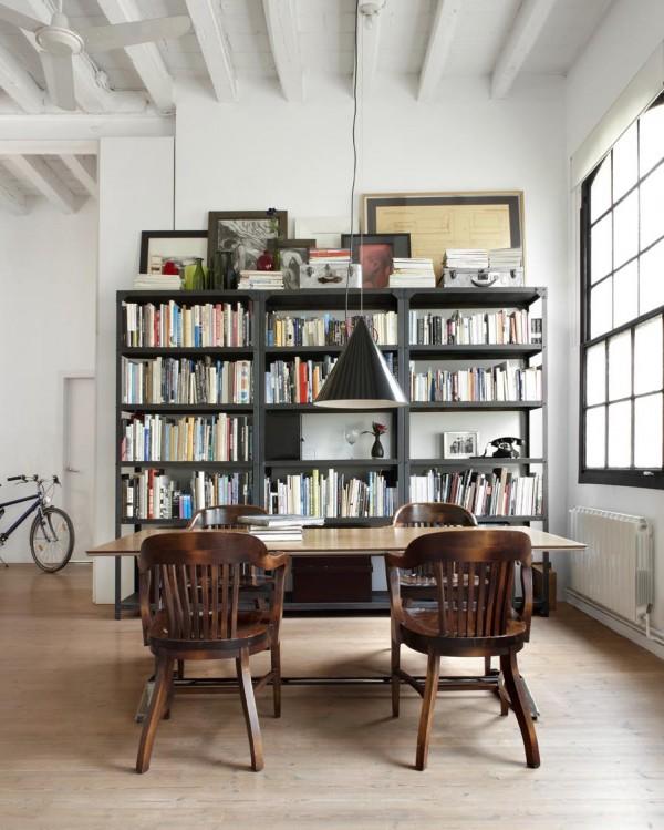 my scandinavian home: White industrial style loft in Barcelona