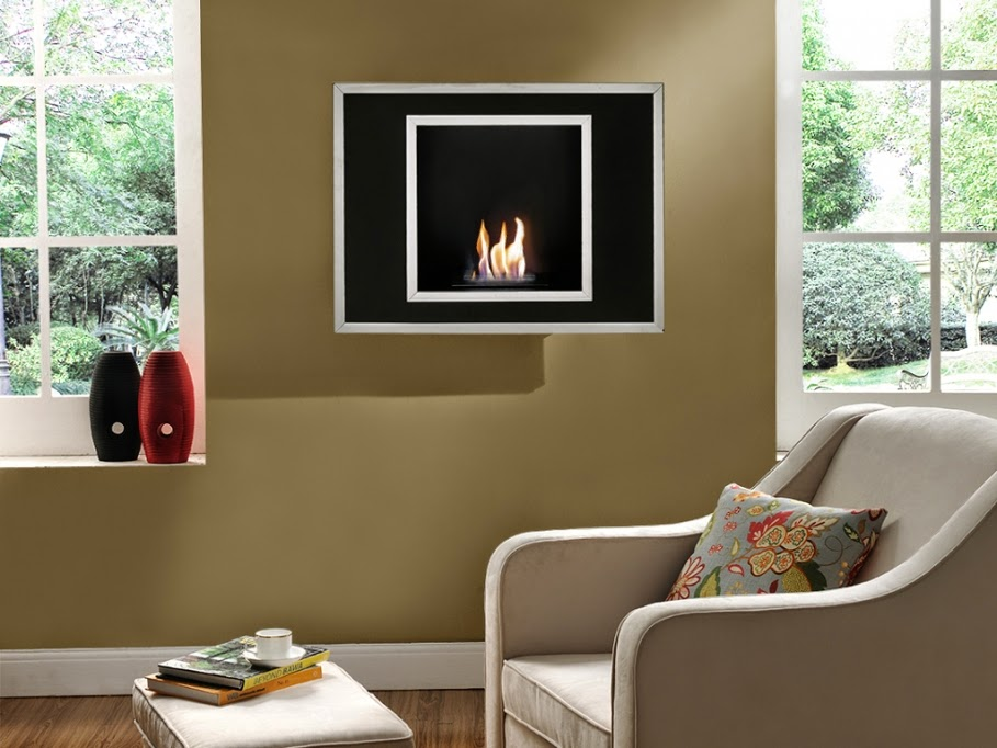 Chimeneas Modernas de Pared