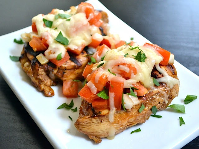 Foodie Blogs Uncovered: Balsamic Bruschetta Chicken: First Hall of ...