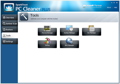 Download SparkTrust PC Cleaner Plus 3.1.10.0 Including Crack