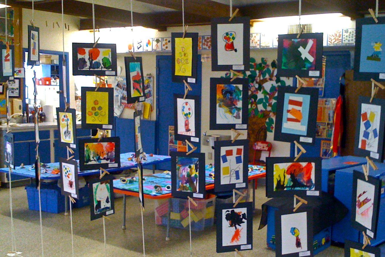 Kids art market art show at sutterville preschool for Art craft shows