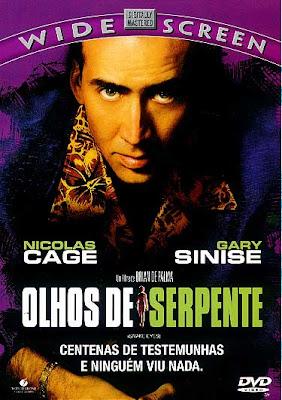 Filme Poster O Olhos de Serpente DVDRip XviD & RMVB Dublado