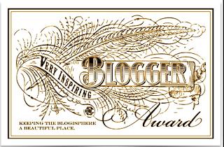 Very Inspiring Blogger Awards