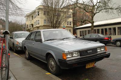1979 Toyota Corona Liftback.