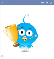 Trophy Bird Icon