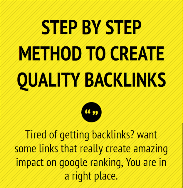 high quality backlinks infographic