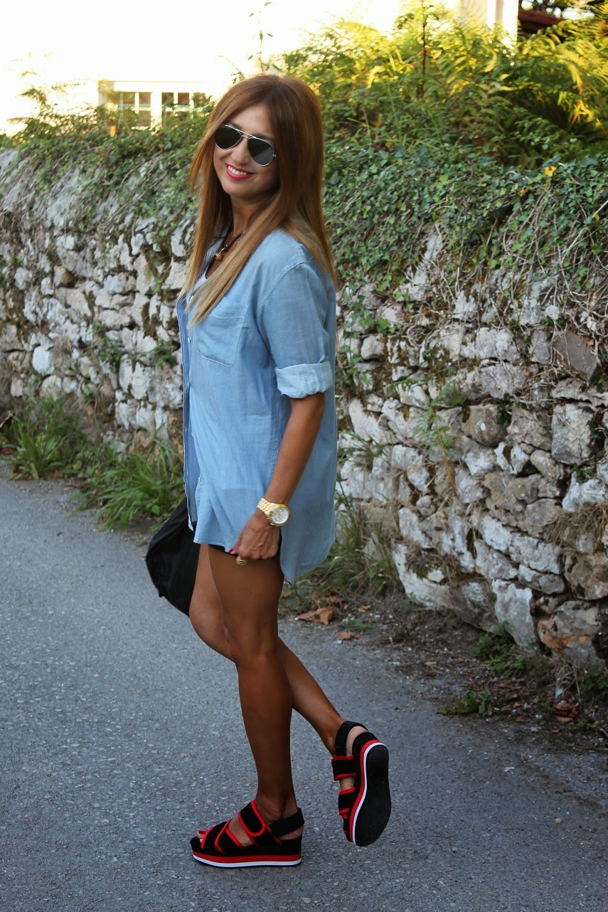 Denim&Supply Ralph Lauren, Leonce, Bimba & Lola, Street Style, Fashion Blogger, Cool, Style, Carmen Hummer, lifestyle, Summer, Holidays, Shoes, Shirt