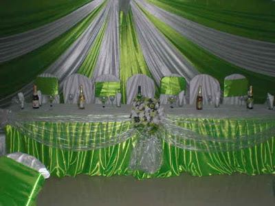 wedding decoration pictures in ghana
