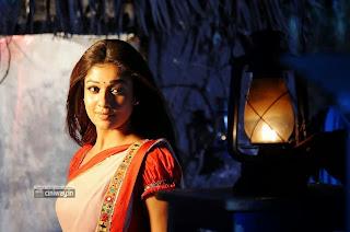 Nayanthara Saree Stills in Krishnam Vande Jagadgurum