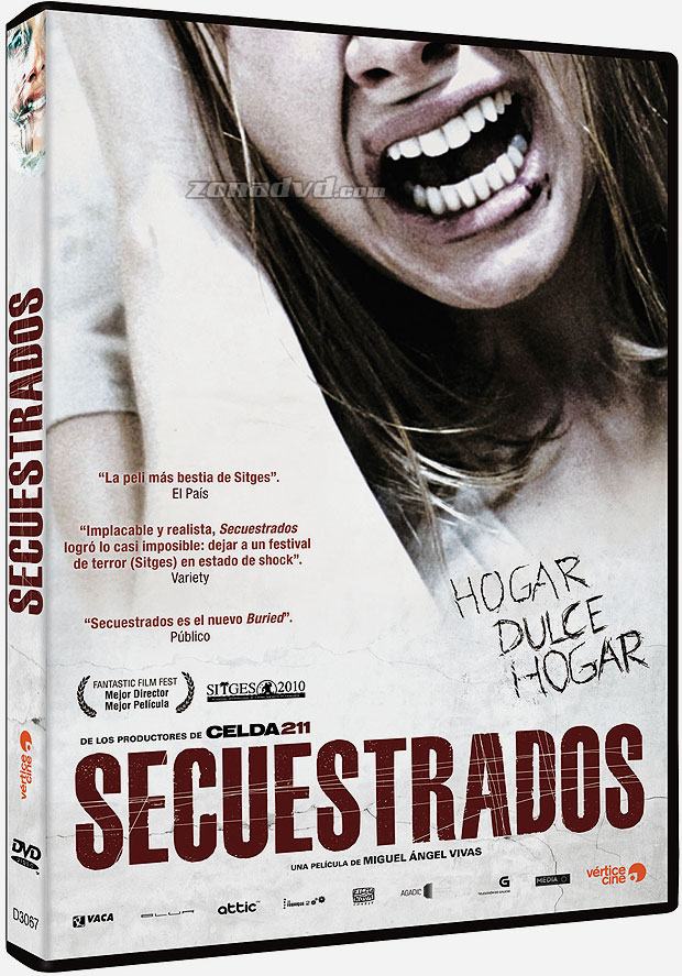 Secuestrados DVD FULL