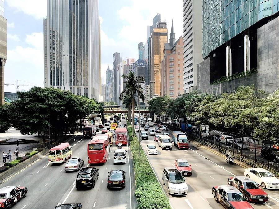 Top 5 hotspots in Hong-Kong