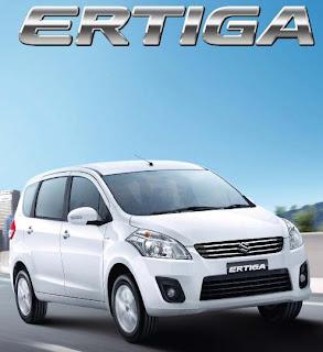 Harga dan Spesifikasi Mobil Terbaru Suzuki Ertiga 2013