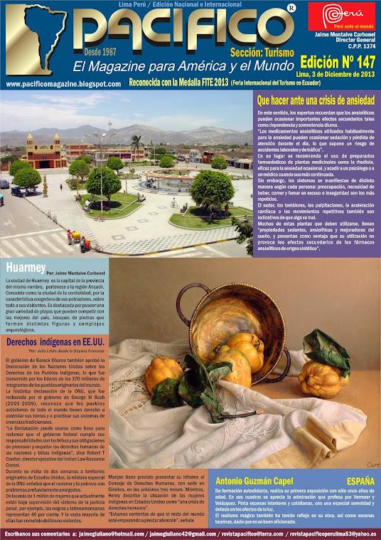 Revista Pacífico Nº 147 Turismo